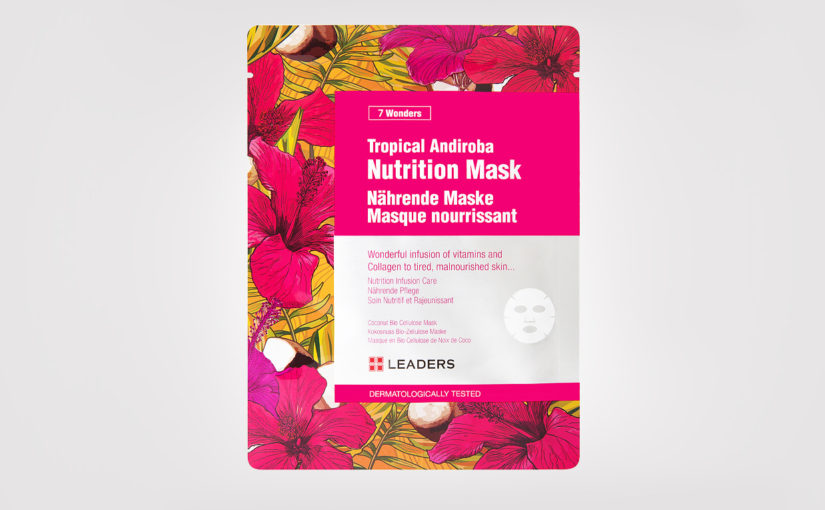 First impression recension Leaders Tropical Andiroba Nutrition Mask från Korea Anti-age mot rynkor Koreansk hudvård K-beauty Blogg Sverige