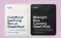 Köpa Klairs Midnight Blue Calming Sheet Mask Klairs Rich Moist Soothing Tencel Sheet Mask från Korea k-beauty webshop