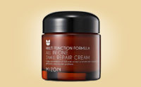 Köpa Mizon All In One Snail Repair Cream snigelkräm från Korea K-beauty webshop Koreansk hudvård