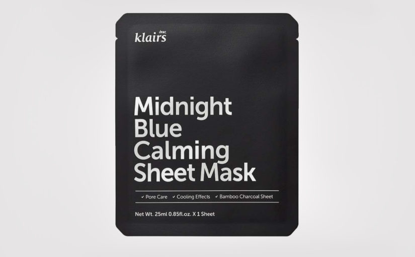FIRST IMPRESSION: Klairs Midnight Blue Calming Sheet Mask