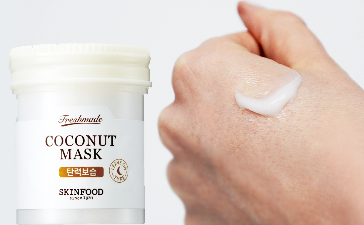 Recension Skinfood Freshmade Coconut Mask ansiktsmask kokos från Korea