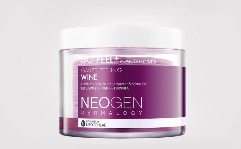 First impression recension Neogen Bio-Peel Gauze Peeling Wine Pads från Korea Koreansk hudvård K-beauty Blogg Sverige