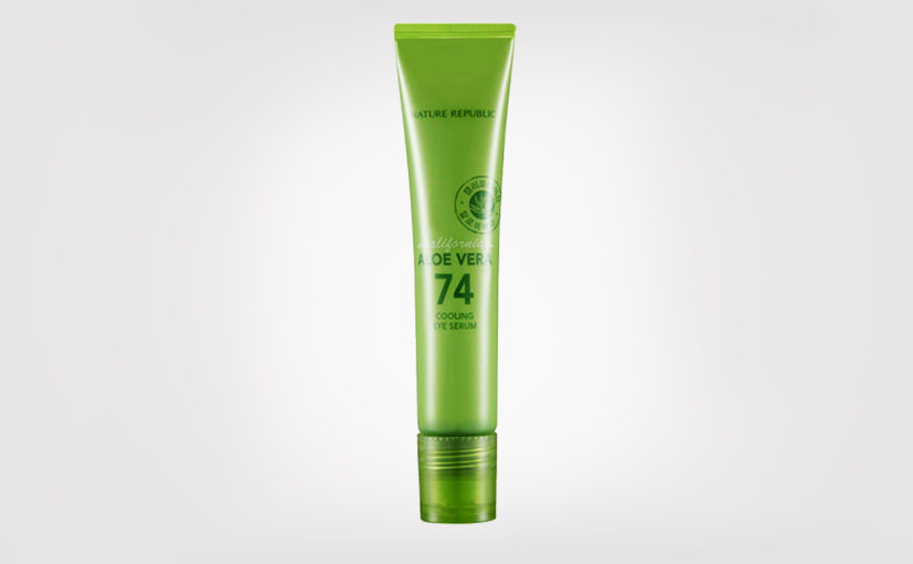 FIRST IMPRESSION: Nature Republic California Aloe Vera 74 Cooling Eye Serum