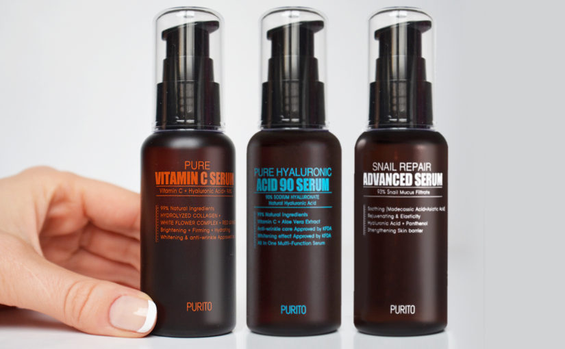 Purito Pure Hyaluronic Acid 90 Serum Purito Snail Repair Advanced Serum Purito Pure Vitamin C Serum K-beauty Blogg Sverige
