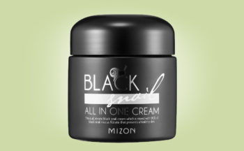 Köpa Mizon Black Snail All-in-One Cream snigelkräm från Korea k-beauty webshop