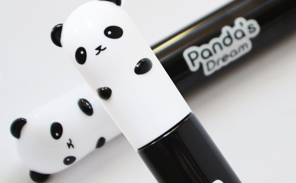 Recension Tonymoly Panda's Dream Smudge Out Mascara från Korea volym långa fransar Koreansk Makeup k-beauty Blogg Sverige
