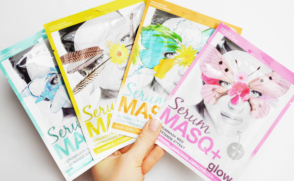 Recension MASQ+ Serum Sheet Mask Powerlite MASQ+ Sheet Mask från Sverige Koreansk hudvård K-beauty Blogg Sverige