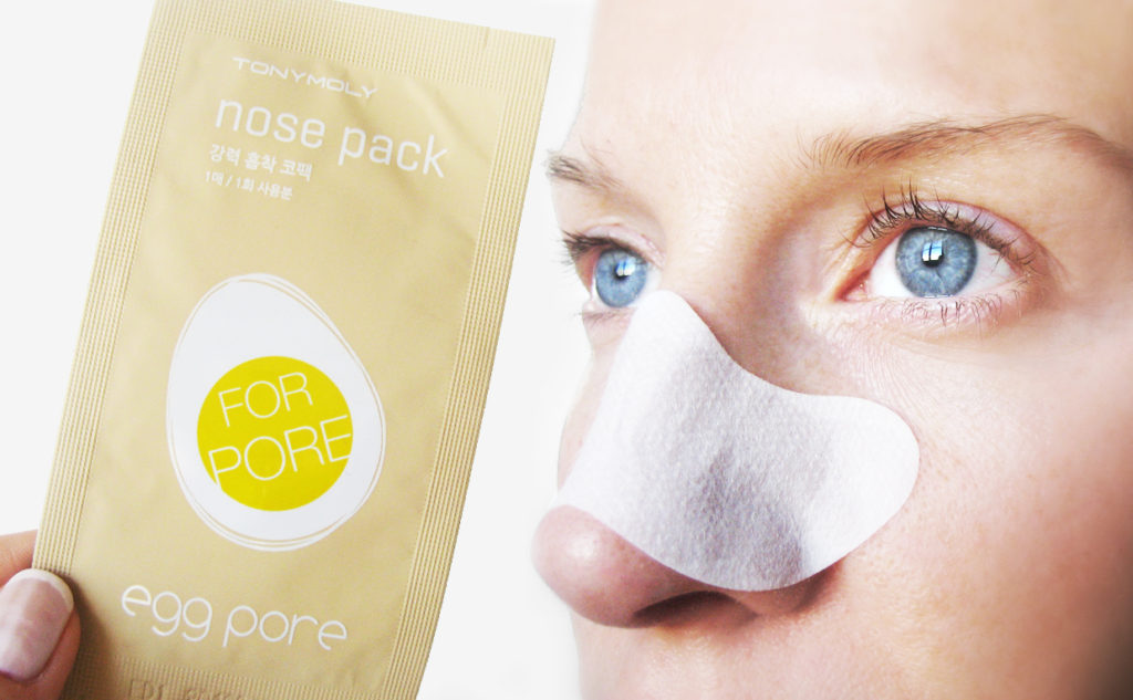 Recension Tonymoly Egg Pore Nose Pack Package näs mask strip från Korea pormaskar blackheads Koreansk hudvård K-beauty Blogg Sverige