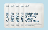 Köpa Klairs Rich Moist Soothing Tencel Sheet Mask från Korea K-beauty webbshop Koreansk hudvård
