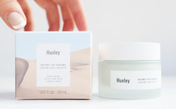 Huxley Secret Of Sahara Cream Anti-gravity anti age ansiktskräm kräm från Korea rynkor K-beauty Blogg Sverige