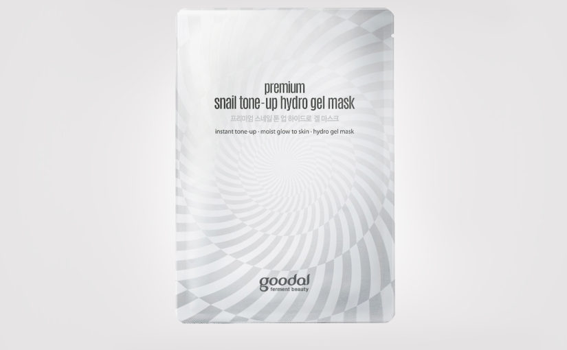 FIRST IMPRESSION: Goodal Premium Snail Tone-up Hydro Gel Mask