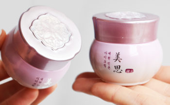 Recension Missha Misa Yei Hyun Eye Cream ögonkräm från Korea anti age rynkor torr hud Koreansk hudvård K-beauty Blogg Sverige