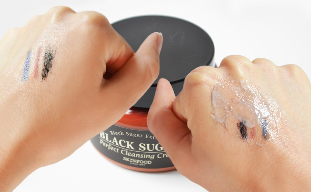 Recension Skinfood Black Sugar Perfect Cleansing Cream rengöringskräm från Korea K-beauty Blogg Sverige